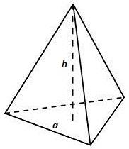 Volum trekantet pyramide